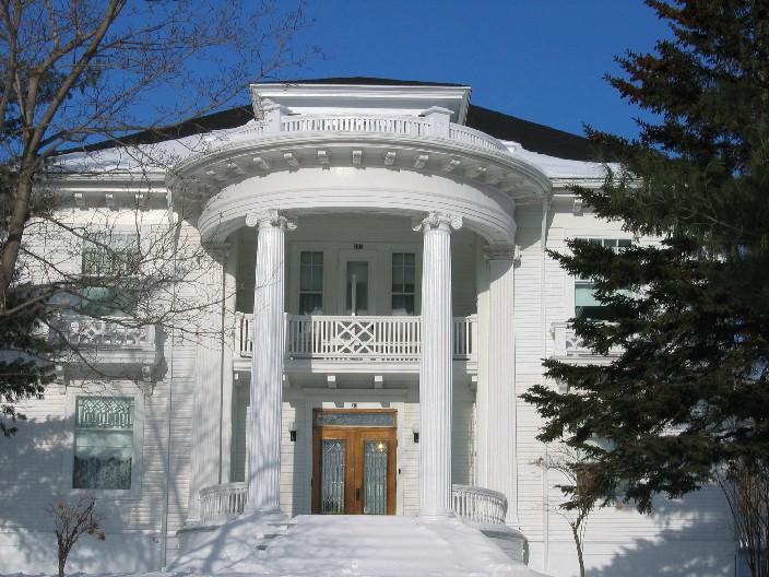 Maison Baril à Warwick. Photo : Société d'histoire de Warwick