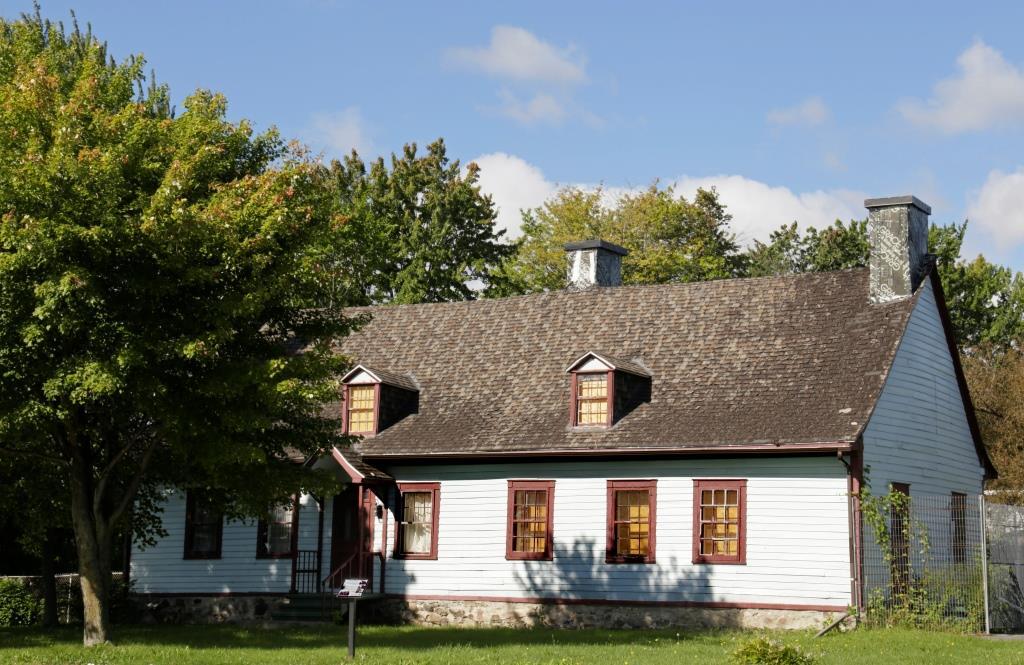 La maison Boileau, à Chambly, sauvée grâce aux pressions citoyennes. Photo : Marjolaine Mailhot.