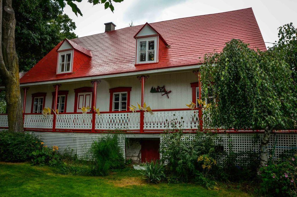 La maison Couët aujourd'hui. Photo : Luc Charron.