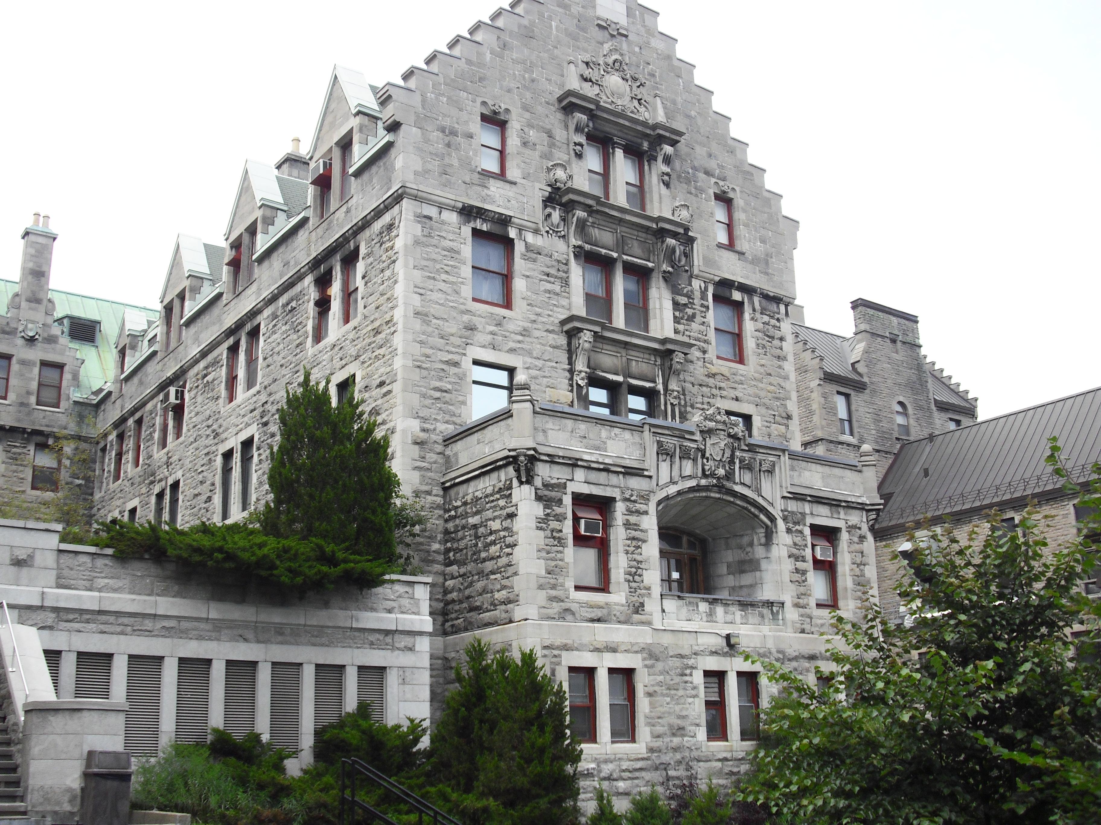 Pavillon Hersey de l'hôpital Royal Victoria. Crédit : Héritage Montréal