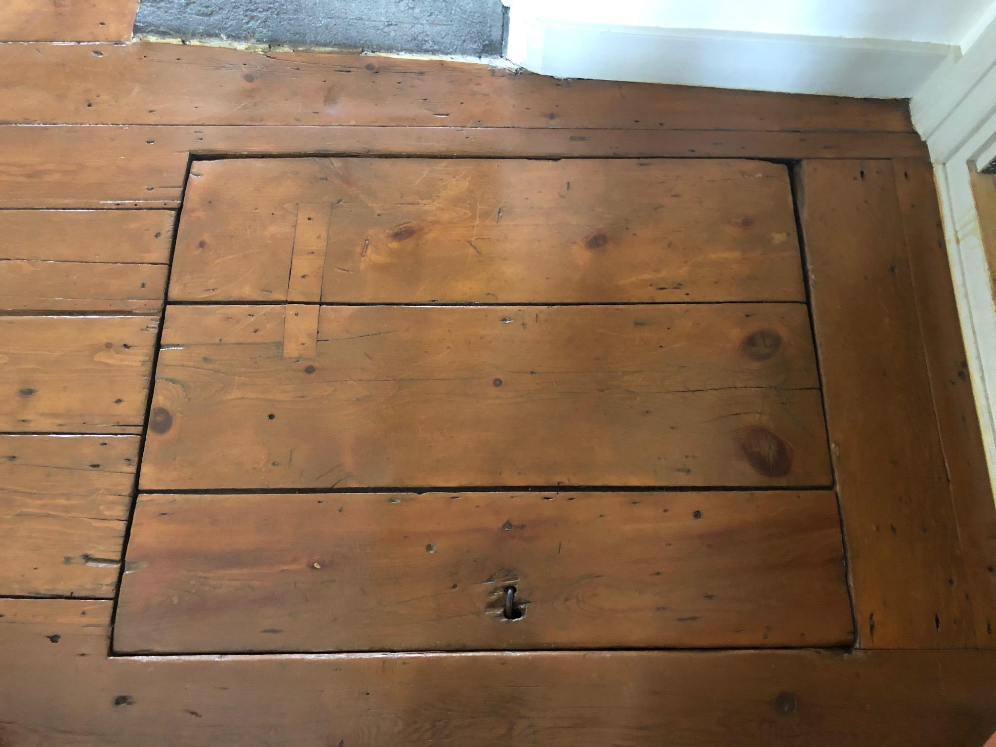 La trappe du plancher
