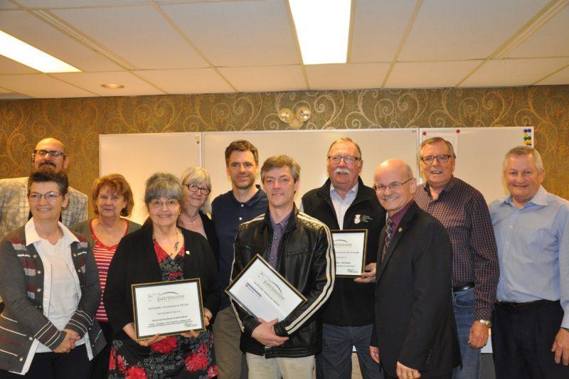 Les lauréats 2017 des Prix du Patrimoine en Nouvelle-Beauce