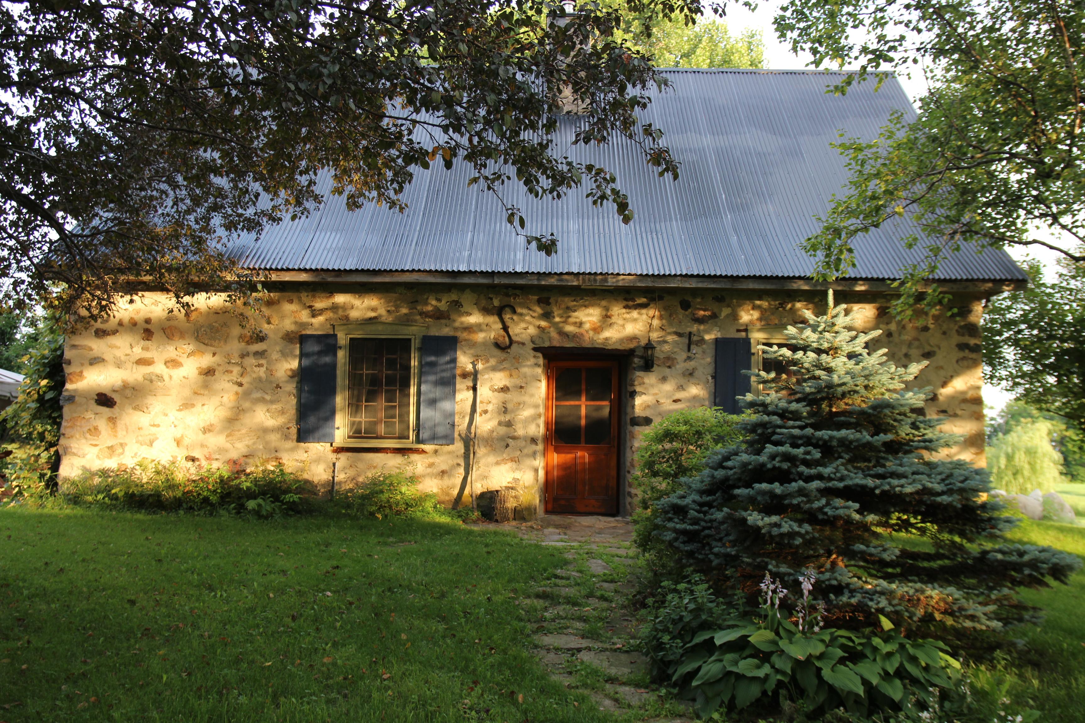 Maison de Yannick Lacoste, membre de l'APMAQ. Source : Yannick Lacoste.