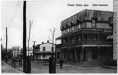 Hôtel Charlebois, Pointe-Claire, QC, vers 1910 Anonyme Don de Mr. Stanley G. Triggs MP-0000.904.5