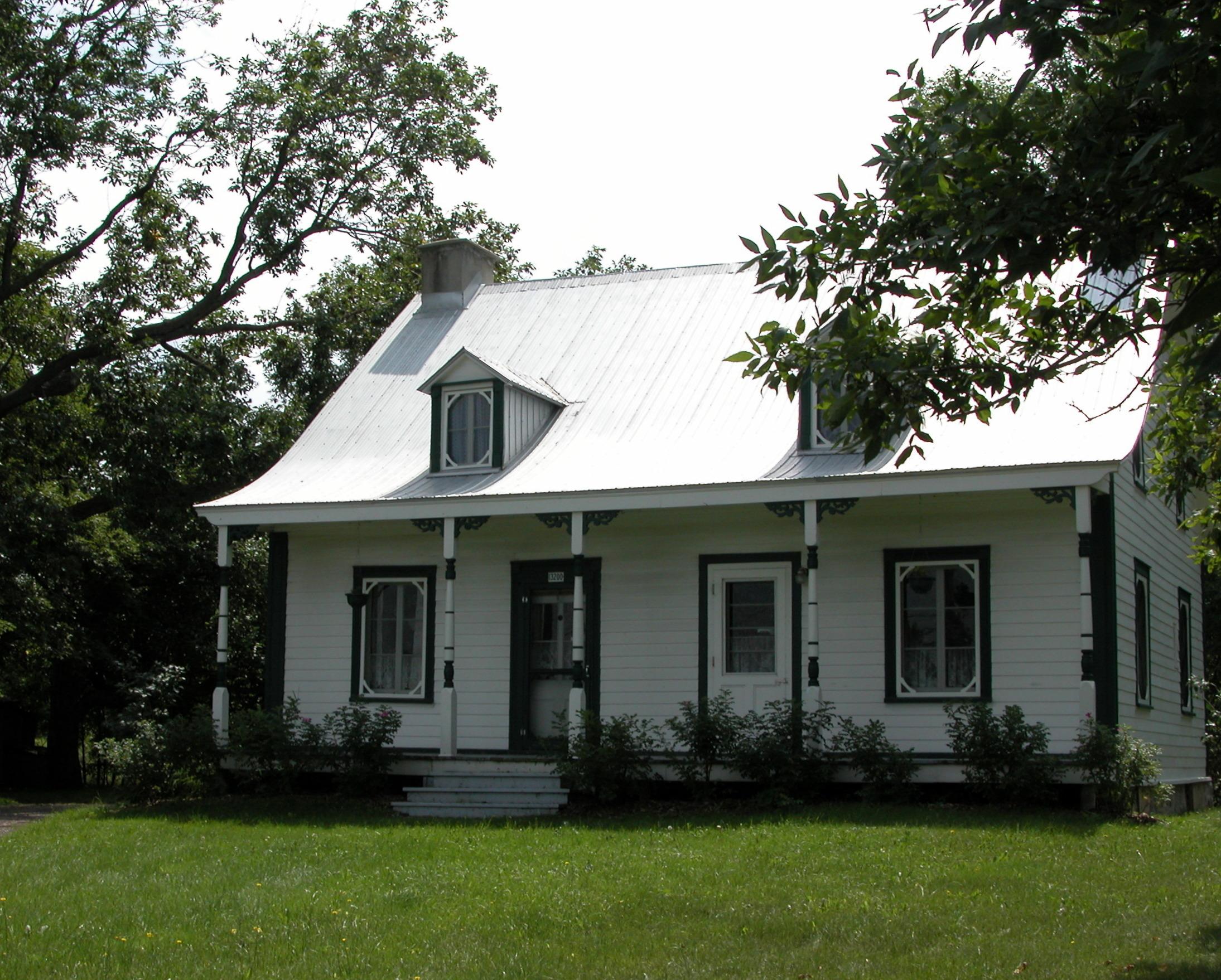 Maison Bleau © Société historique de Rivière-des-Prairies