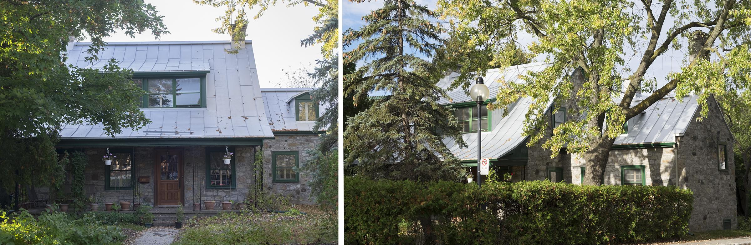 Maison du boulevard Gouin est, Ahuntsic. Source : Société d'histoire Ahuntsic-Cartierville.