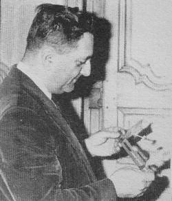 Robert-Lionel-Séguin. Photo de l'article de Maurice Carrier, le 5 août 1994 (La Lucarne XIV-3)