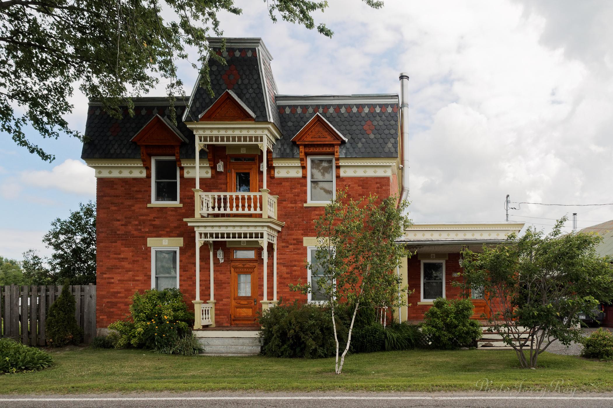 Maison d'inspiration Second-Empire à Saint-Esprit. Crédit photo : Jerry Roy
