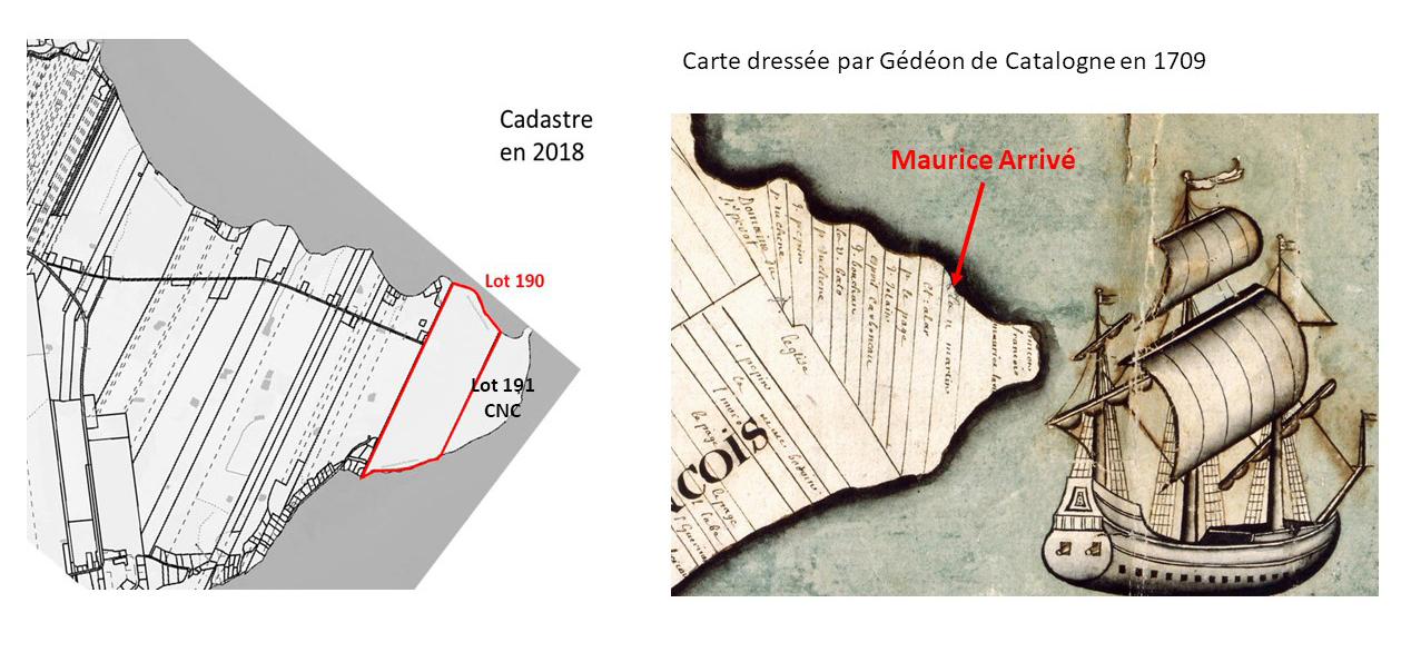 Figure 1 – La « Préservation du cadastre » conçue par Michel Gauthier — Carte dressée par Gédéon de Catalogne en 1709